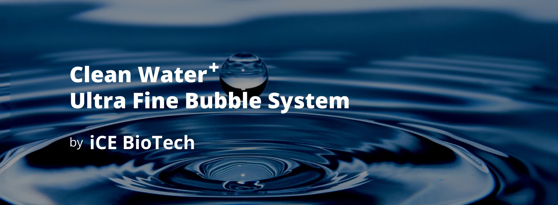 Nano Bubble System ICEBIOTECH